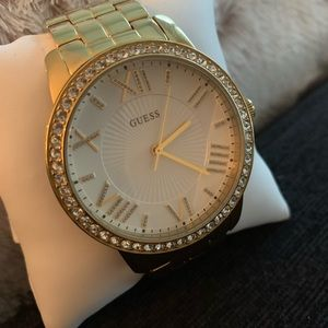 NEW GOLD GUESS WATCH